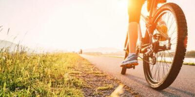 À vélo…